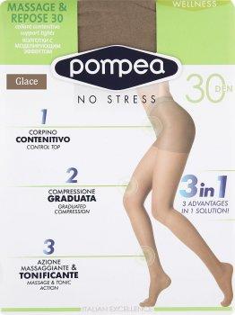Колготки Pompea Massage&Repose 30 Den Glace