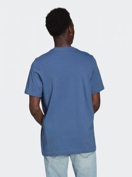 Футболка Adidas Trefoil T-Shirt GN3467 Creblu/White