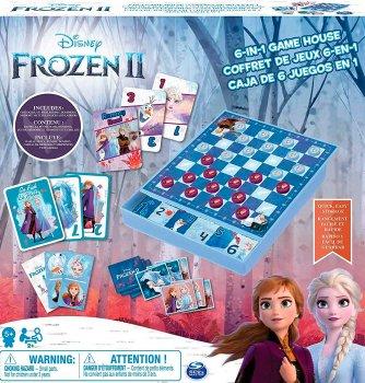 Набір з 6 настільних ігор Spin Master Холодне серце 2 (SM98478/6053753)