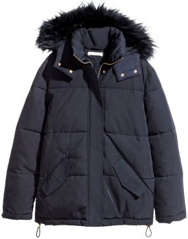 Куртка H&M 3hm01110024 Темно-синяя