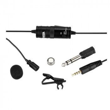 Петличний мікрофон Boya BY-M1 для смартфона, комп'ютера, планшета, камери (6 м) (480540)