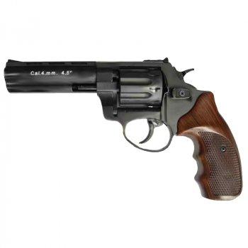 """Револьвер под патрон Флобера Stalker (4.5"""", 4.0mm), ворон-коричневый"""