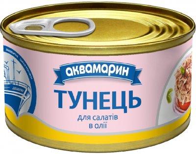 Тунец для салатов Аквамарин в масле 85 г (8852021008396)