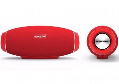 Портативна Bluetooth колонка Hopestar H20, червона