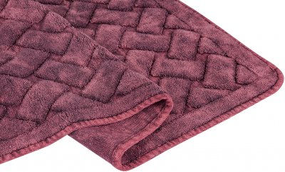 Набір килимків Arya Hasir 50х60, 60х100 Бордовий (TR1006872)