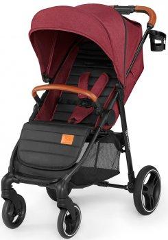 Прогулянкова коляска KinderKraft Grande 2020 Burgundy (158727)