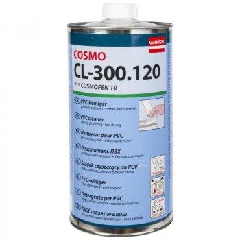 Очищувач Cosmofen Weiss 10 для ПВХ 1000 мл Прозорий