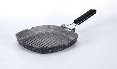 Сковорода гриль Kohen Light Stone Grill 24 см (KN78024)