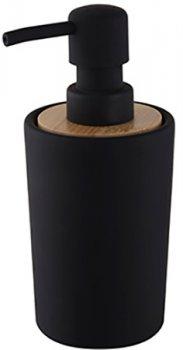 Дозатор для рідкого мила BISK Plain 06572 350 мл чорний