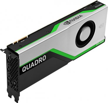 PNY PCI-Ex NVIDIA Quadro RTX5000 16GB GDDR6 (256bit) (3 x DisplayPort, 1 х VirtualLink) (VCQRTX5000-BSP)