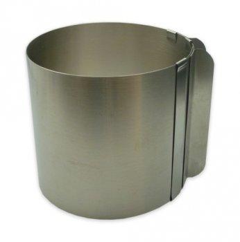 Розсувна кругла форма для випічки висота 15 см (70193)