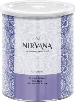 Теплый воск для спа-депиляции ItalWax Nirvana Лаванда в банке 800 мл (8032835177086)