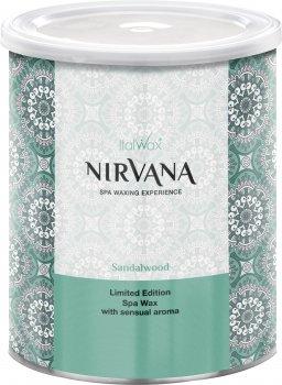 Теплый воск для спа-депиляции ItalWax Nirvana Сандал в банке 800 мл (8032835177079)