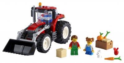 Конструктор LEGO City Great Vehicles Трактор 148 деталей (60287)