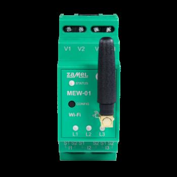Монітор споживаної електроенергії Zamel Supla MEW-01 3-х фазний, Wi-Fi (MEW-01)