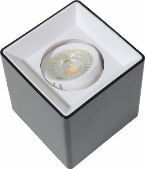 Точковий світильник Brille AL-710/1 GU5.3 BK/WH (36-294)
