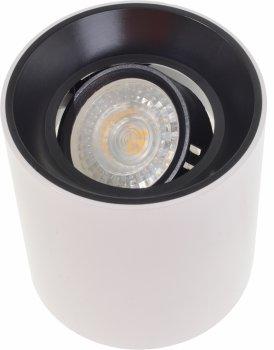Точковий світильник Brille AL-709/1 GU5.3 BK/WH (36-291)