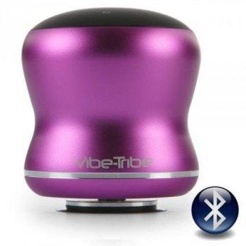 "Резонансна колонка-динамік Vibe-Tribe ""Mamba speaker"" Original (3D акустика) , пурпурний"