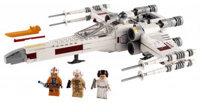 Конструктор LEGO Star Wars Истребитель X-wing Люка Скайвокера 474 детали (75301)