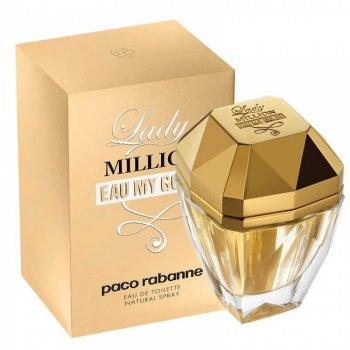 Тестер Туалетная вода для женщин Paco Rabanne Lady Million Eau My Gold 80 мл (без крышечки) (3349668524570)