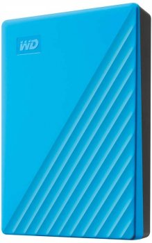 "Жесткий диск Western Digital My Passport 4TB WDBPKJ0040BBL-WESN 2.5"" USB 3.0 External Blue"