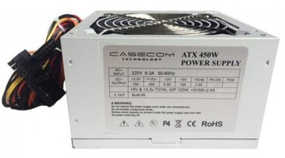 Блок питания CaseCom (CM 450 ATX) 450W 12Fan