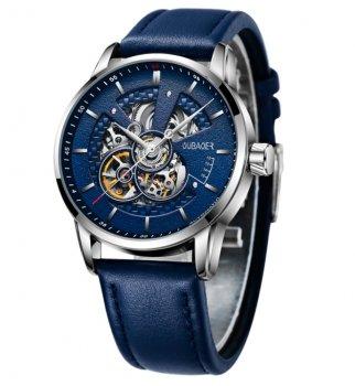 Мужские механические часы Oubaer 43х10 мм Темно-синий 8902