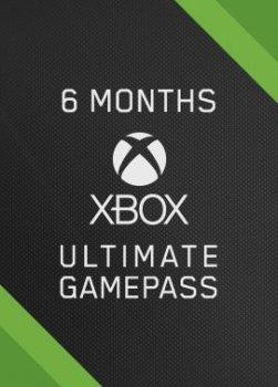 Підписка цифровий код Xbox Game Pass Ultimate на 6 місяців | Всі Країни