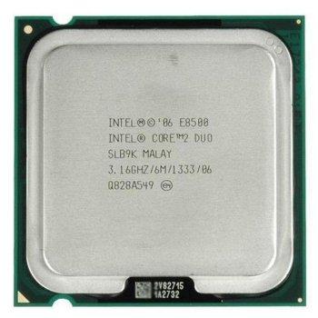 Процессор Intel Core2 Duo E8500 LGA775 3.16GHz/ 6 MB/ 1333 Mhz s775 Tray Б/У