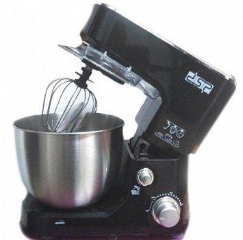 Кухонний міксер DSP KM3030 1000 Вт з чашею з металу 5 л Чорний (mix1)
