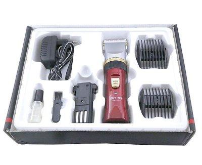 Машинка для стрижки волос с двумя аккумуляторами Gemei GM 550 (gr_006875)