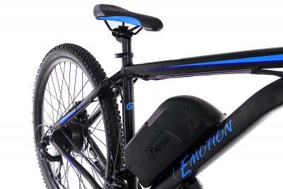 "Електровелосипед E-motion MTB 27,5"" GT 48V 15Ah 500W / рама 19"" чорно-синій"