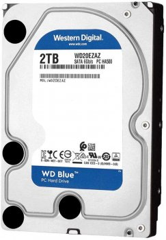 "Жорсткий диск Western Digital Blue 2TB 5400rpm 256MB WD20EZAZ 3.5"" SATAIII"