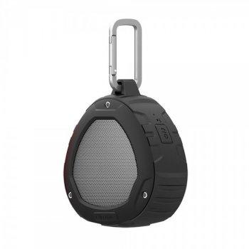 Портативная Bluetooth колонка с карабином Nillkin S1 PlayVox Black