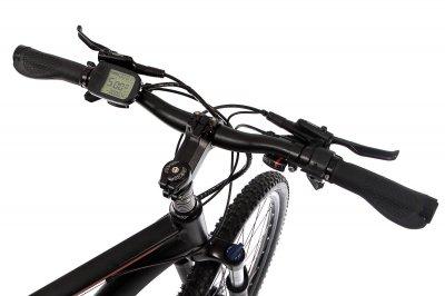 """Електровелосипед E-motion MTB 27,5"""" GT 48V 15Ah 500W / рама 19"""" чорно-червоний (E2754815500-BR)"""