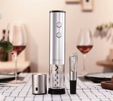 Винний набір Circle Joy Electric Red Wine Opener Set 4 in 1(JCJERWOS4in1)