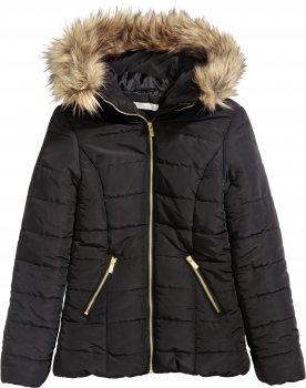 Куртка H&M 0390167 Черная