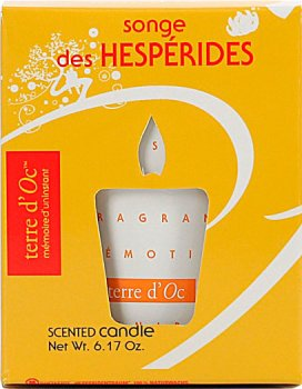Парфумована свічка Terre d'Oc Мрії Геспериди 175 г (3700324425912)