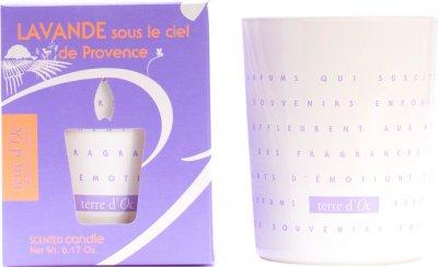 Парфумована свічка Terre d'Oc Лаванда під небом Провансу 175 г (3700324425288)