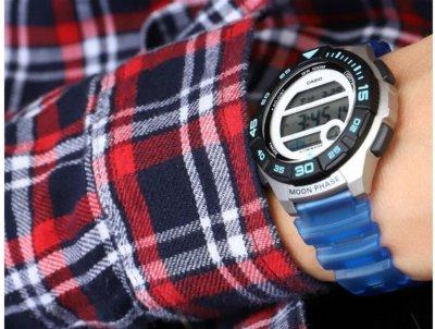 Чоловічий годинник CASIO LWS-1100H-2AVEF