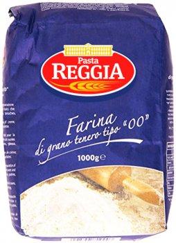 Мука ReggiA Farina Пшеничная из мягких сортов пшеницы 1 кг (8008857810003)