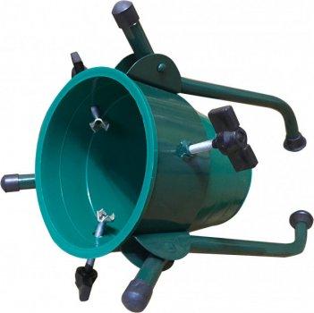 Стійка для ялинки Гроно-Трейд відро 27.5 см, зелений (4820121810205)