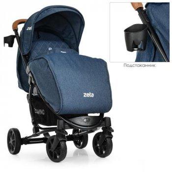 Прогулянкова коляска EL Camino Zeta ME 1011L Denim Blue (ME 1011L)