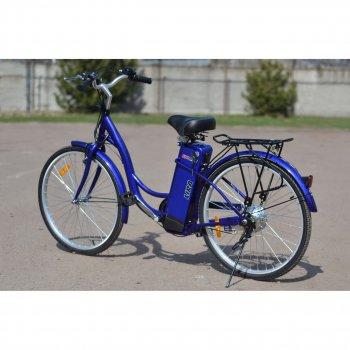 Електричний велосипед SkyBike LIRA Синій