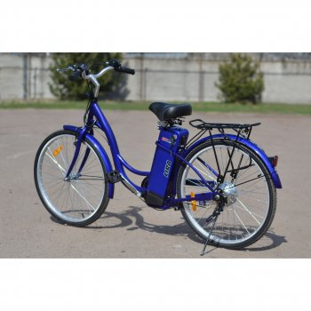 Электрический велосипед SkyBike LIRA Синий