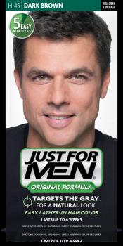 Краска для волос мужчин JUST FOR MEN (H45) - Тёмный коричневый 66 мл.