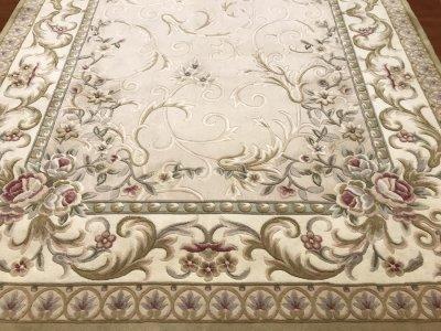 європейський килим класичного стилю з вовни, ручна стрижка з Китаю 200x300 (25449 LX1401 129)