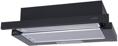 Витяжка Ventolux GARDA 60 BK (700) SLIM