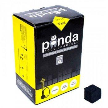 Вугілля Panda coco charcoal XL 72 куб. Black