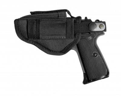 Поясная внутрибрючная кобура A-LINE для пистолетов малых габаритов черная (Т5)